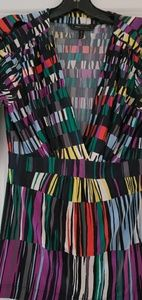 Beautiful Multi-color low cut top